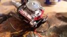 69' Camaro Motor vorne